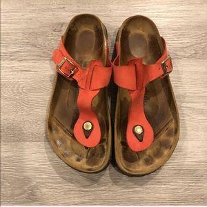 Betula Birkenstock Gizeh Sandals Size 40